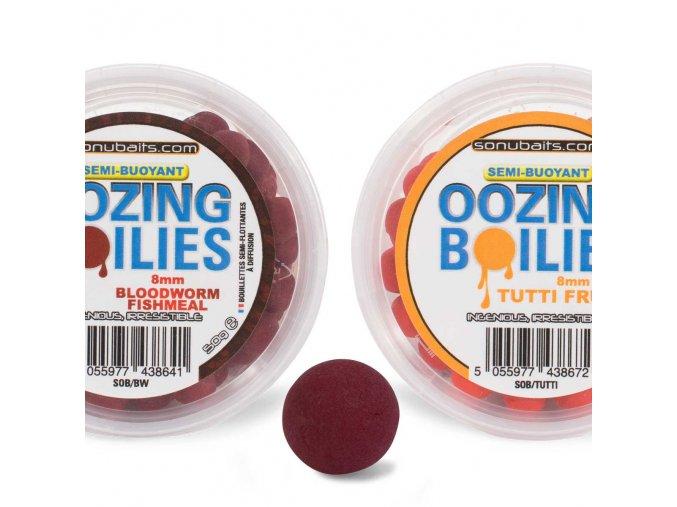 semi buoyant oozing boilies