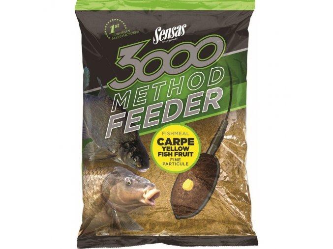 sensas 3000 method feeder carpe yellow