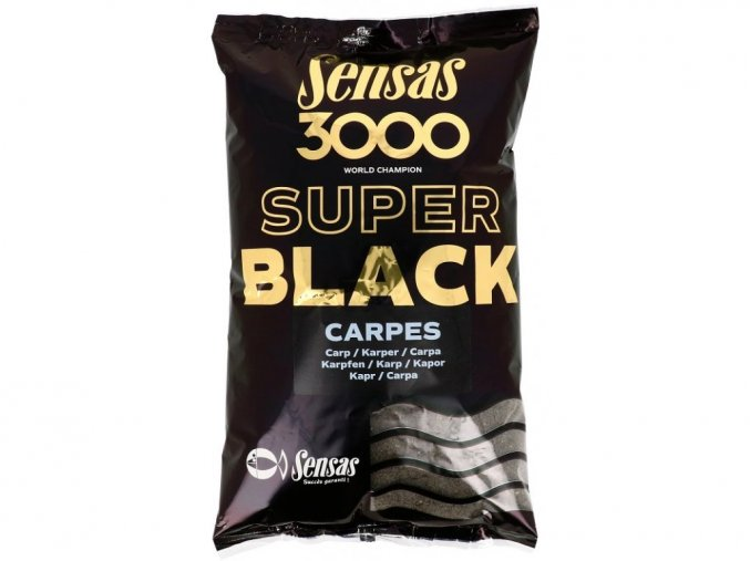 krmeni 3000 super black kapr cerny 1kg