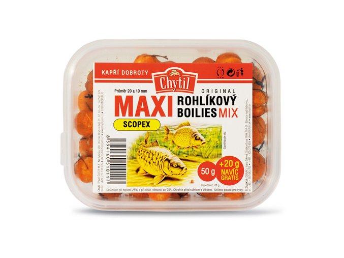 Rohlíkový boilies Maxi