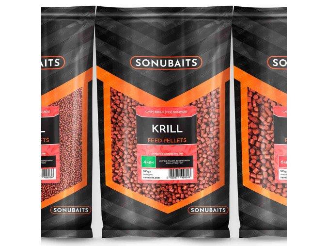 feed pellet krill