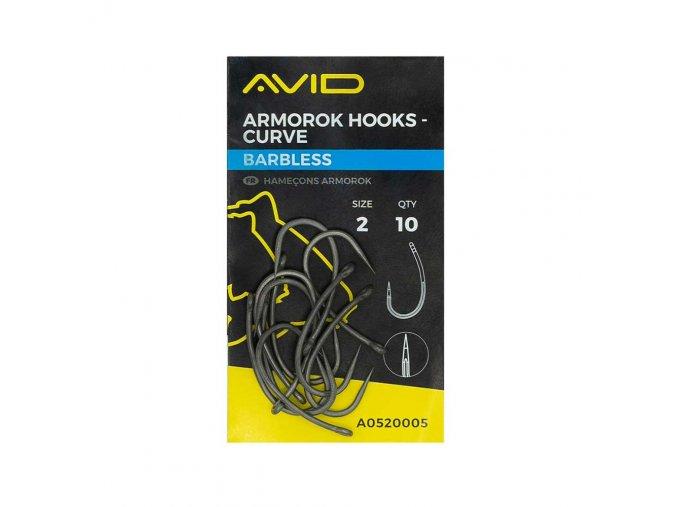 07 A0520005 armorok hooks curve barbless size 2 st