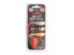 Snapper Jig Kit 7,5 cm natural