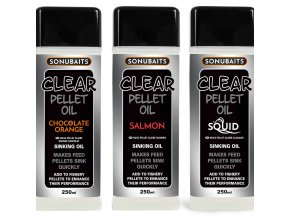clear pellet oils