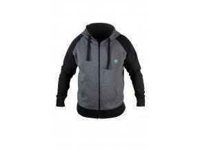grey zip hoodie 1