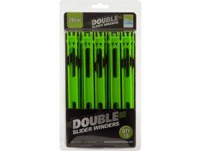 Double Slider winder 20 cm green