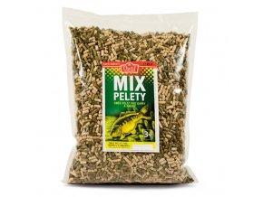 Mix pelety granulované 3 kg