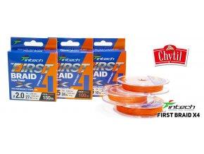 First BRAID X4 Orange 01