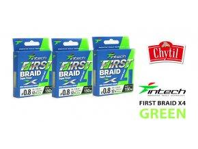 First BRAID X4 Green 01