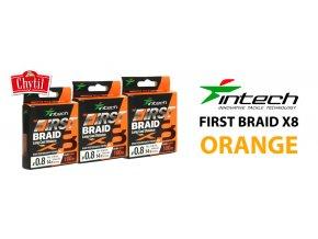 First BRAID X8 Orange 01