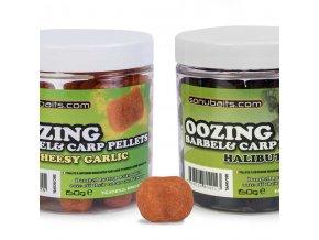 oozing barbel carp pellets