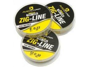 Two Tone Zig Line